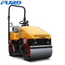 Rouleau d'asphalte de compactage de la direction assistée 1000kg