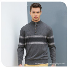 Polo Neck Men′s Cashmere Sweater/Christmas Sweater Knitting Patterns