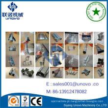 quadro de metal suporte solar máquina de prensagem