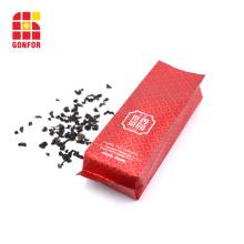 Poche à soufflet latérale de haute qualité avec sachet de thé imprimé