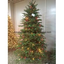 PE Tips Arbre de Noël avec LED couleur multi couleur (usine directe)