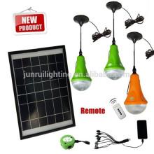 CE & brevet portable payant solaire LED éclairage à la maison (JR-SL988A) vendable