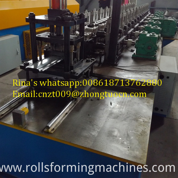 gear box transmission shutter door roll forming machine 10