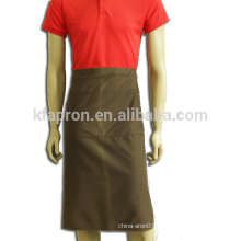 long half waist chef uniform apron cotton