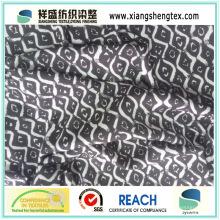 100% Polyester Georgette Plain gefärbtes bedrucktes Gewebe