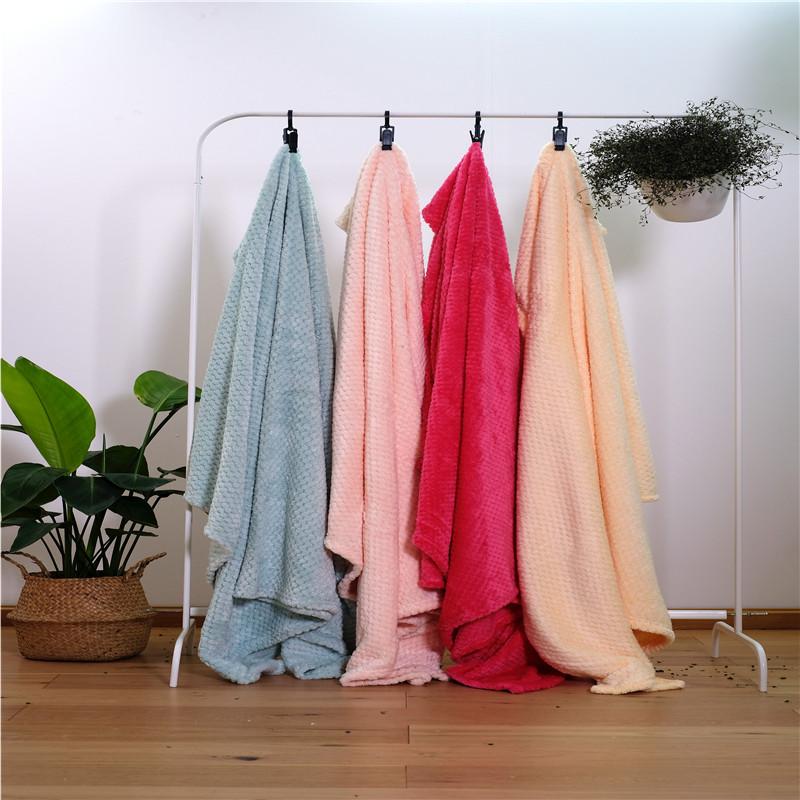 Jacquard Velvet Bed Blanket