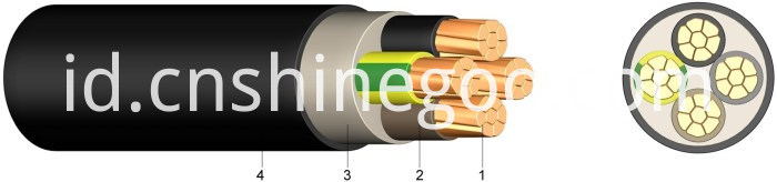 4x4mm2 power cable