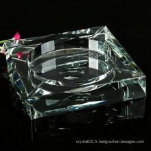 2015 cendrier en verre de cigare en cristal de haute qualité