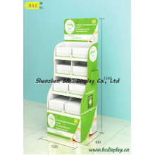 Cardboard Display Stand, Paper Display Rack, PDQ, Gift Box (B&C-A069)