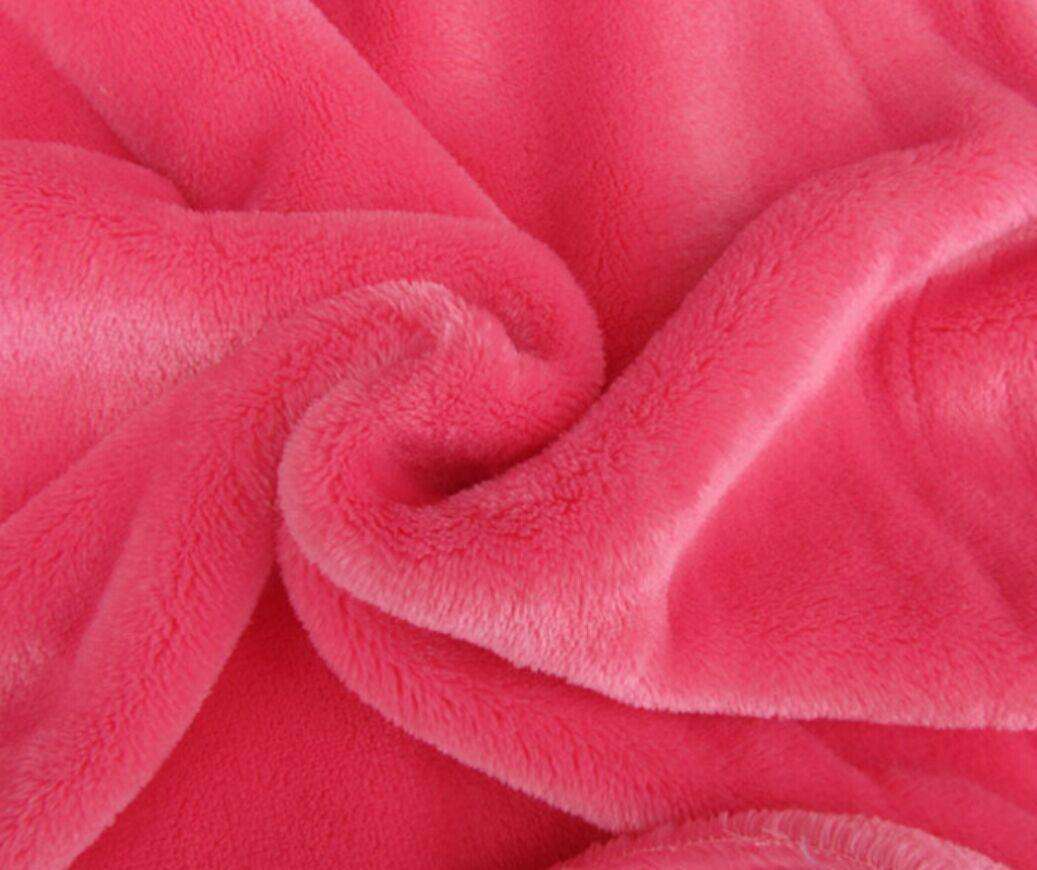 Brushed cotton flannel large flange fabric