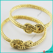 Gold Metall Charms Armreif für Mädchen Schmuck