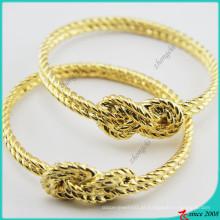 Pulseira de ouro metal encantos para jóias menina