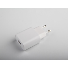 White Color 5V Single USB Charger For Samsung 1A Euro Travel Charger Adapter