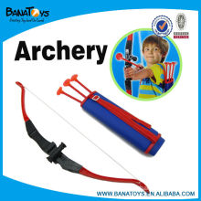 Plastic bow and arrow toys set for kid