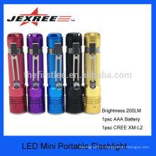 JEXREE 7w 300lm mini cree led lanterne