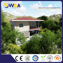 (WAD4003-205M) Chine Prefab Modren Homes Fabricants Prefab Townhouse abordable