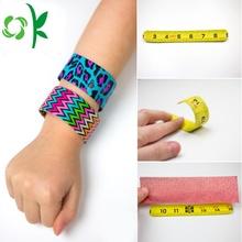 Professional Rules Silicone Slap Snap Bracelet for Kids