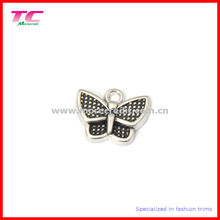Custom Lovely Butterfly Metal Charm Pendant