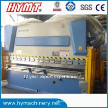 Machine à cintrer hydraulique de plaque d'acier Wc67y-160X3200 / machine de pliage en métal