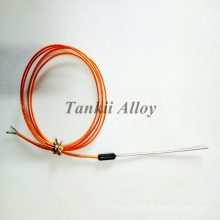 Armoured thermocouple cable (type K/J/T/E)