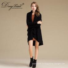 Damen Langarm Strickmode Kaschmir Pullover Pullover Kleid Design Bild