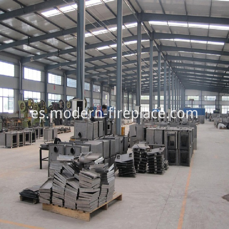 Workshops of Log Wood Stoves Factory