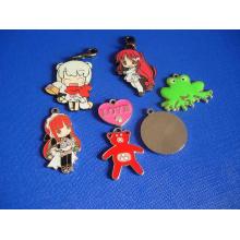 Cartoon Metal Badge for Promotion Accessoires pour porte-clés (GZHY-CY-024)