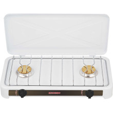 Double Brass Burner Super Flame Gas Range