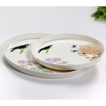 (BC-TM1009) Hot-Sell High Quality Reusable Colorful Melamine Tray