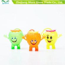 Piscando Light-up Soando Spiky Puffer Yo-Yo Bola Brinquedos