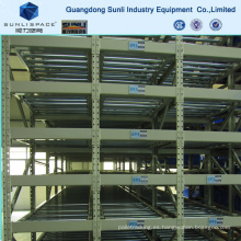 Heavy Duty Roller Shelf Carton Flow Rack con CE