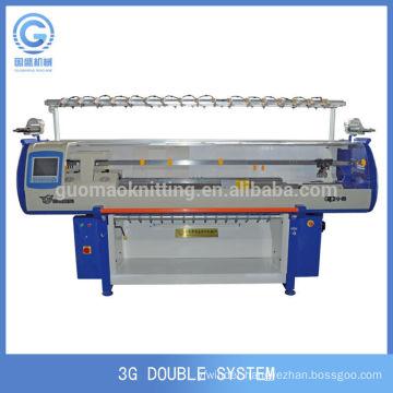 China 3GG double system sweater knitting machine