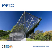 High Quality Low Cost Light Steel Structure Canopy