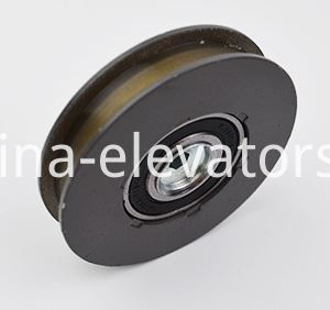 Landing Door Hanger Roller for Hitachi Elevators 65*13*6202 With M10 Self-locking Nut