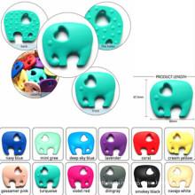 Изготовленный на заказ силиконовый Teether для младенца / младенца / малышей