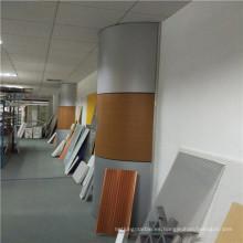 Panel de nido de abeja de aluminio para cubrir la columna