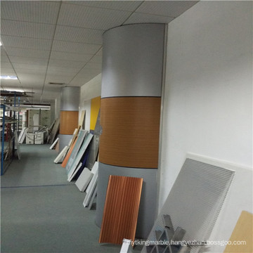 Aluminium Honeycomb Panel for Column Covering