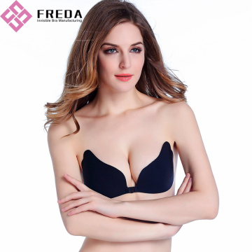 Hot-sprzedaży Butterfly Silikon Push Up Wing Bra
