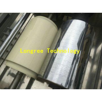 Máquina de impressão de borda de madeira lustrosa alta projetada nova da borda de PVC da grão
