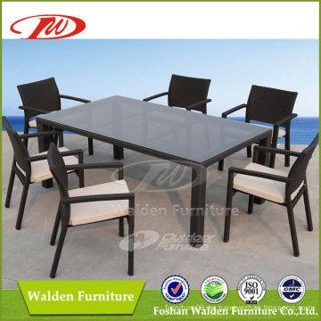 Outdoor Wicker Tisch und Stuhl (DH-6123)
