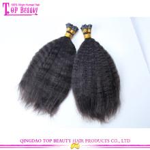 Novo vindo dar uma dica 100% cabelo remy indiano virgem extensões de alta qualidade por atacado dou gorjeta a extensão do cabelo