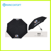 Promotional Auto Open and Close 3 Fold Umbrella