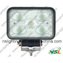 CE RoHS Venta caliente 50W LED Luz de camión Luz de trabajo LED Luz de trabajo para carretilla elevadora fuera de la carretera Nsl-5005-50W