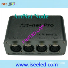 Madrix 호환 4 헤드 Artnet Node 3D Visualiser
