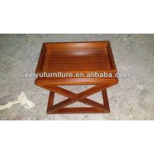 Porte-bagages en bois pour chambre d'hôtel XY0825