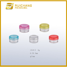 Plastic Cosmetic Jar