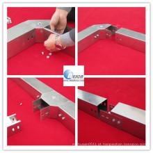 Bandeja do duto do entroncamento do cabo do metal com tampa (GV, UL, cUL)