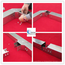 Металлический Кабельный короб канал лоток с крышкой (ПГБ, ул,кул)