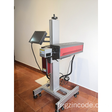 Machine de marquage laser UV volante industrielle 10W