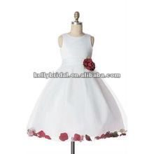 red lace flower girl dress style 1020